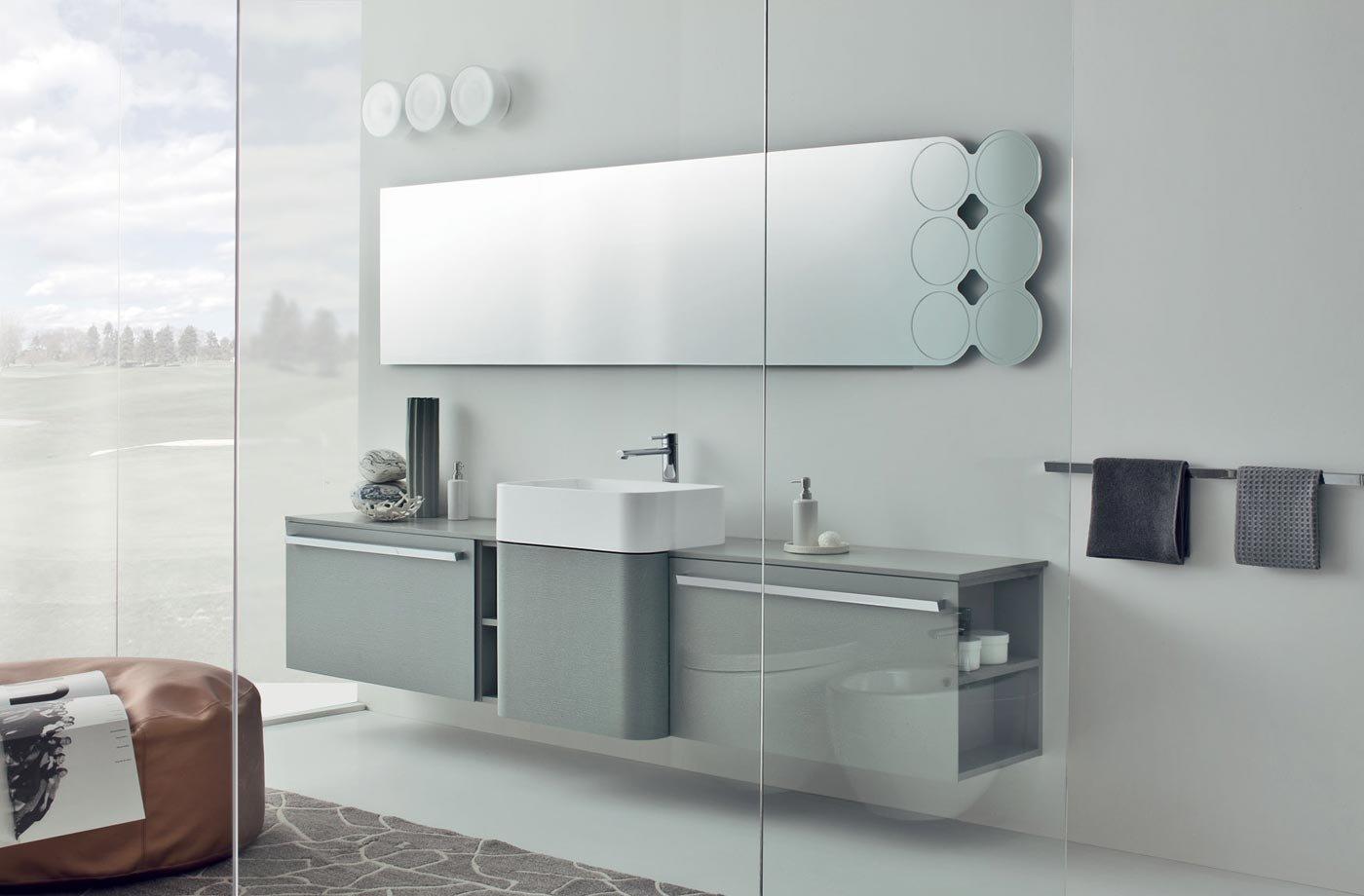 Lavabos de dise o moderno de la firma altamarea for Muebles de lavabo modernos