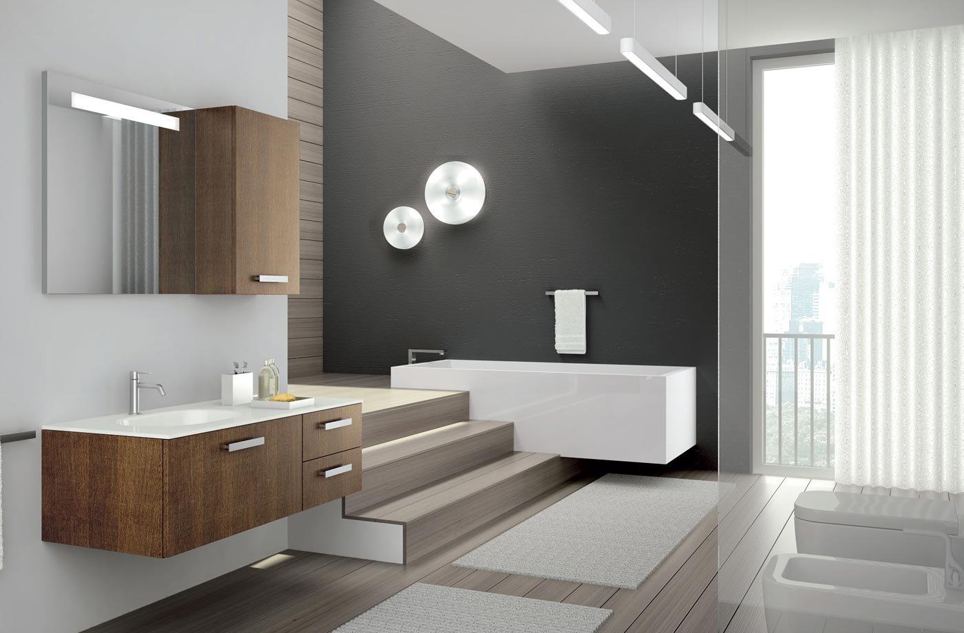 Lavabos de dise o moderno de la firma altamarea for Muebles minimalistas para casas pequenas