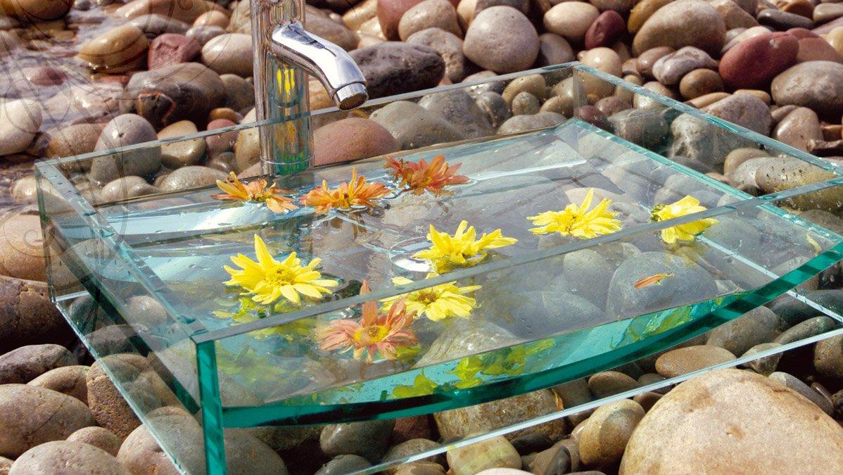 Lavabos Para Baños Cristal:los modelos que más ha llamado mi atención es el lavabo de Cristal