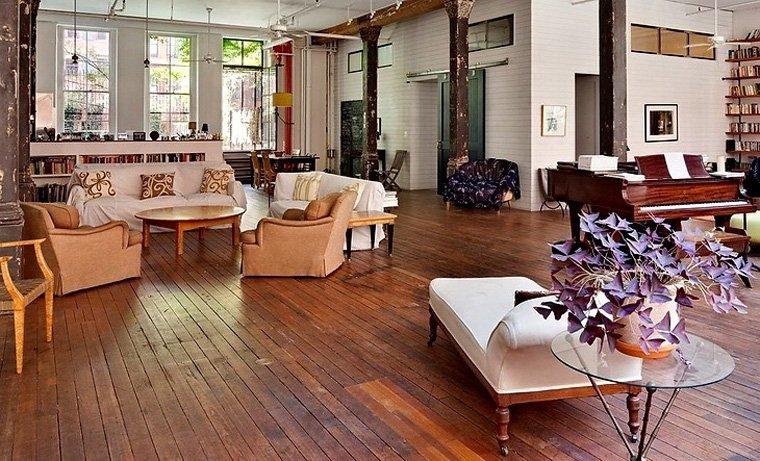 Loft bohemio en nueva york decoraci n del hogar for Loft rustico