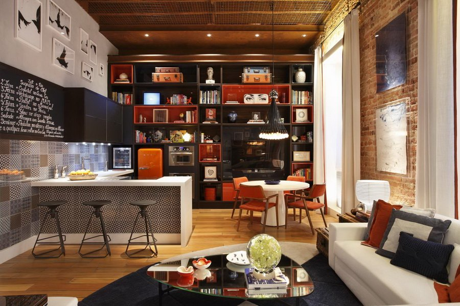 Loft de dise o abierto decoraci n del hogar for Decoracion de loft pequenos
