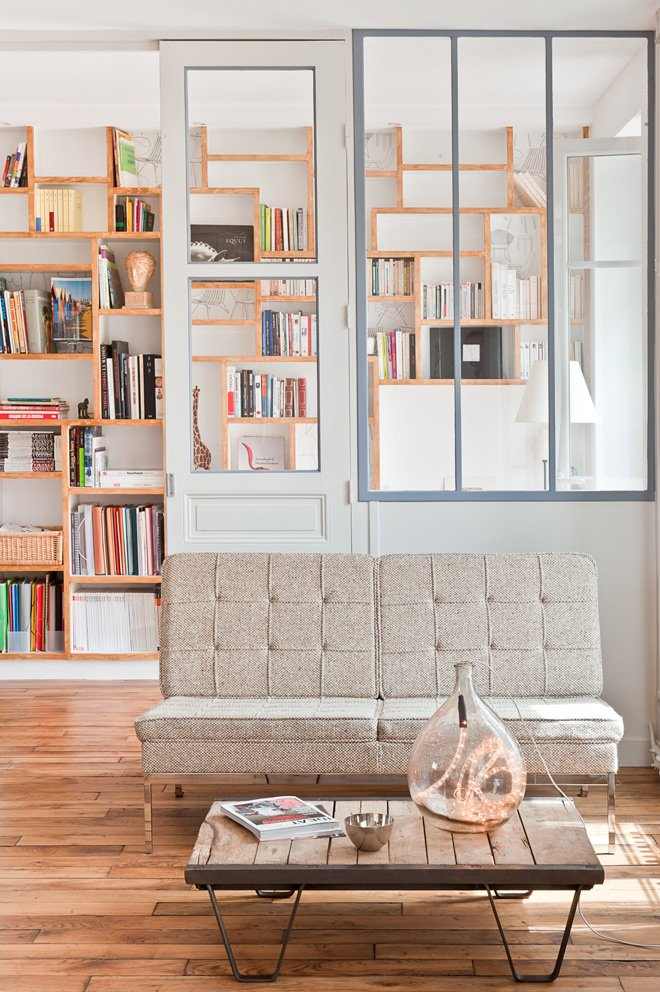 Loft parisino minimalista de 60 m2 decoraci n del hogar - Decoration interieur appartement minimliste kiev ...