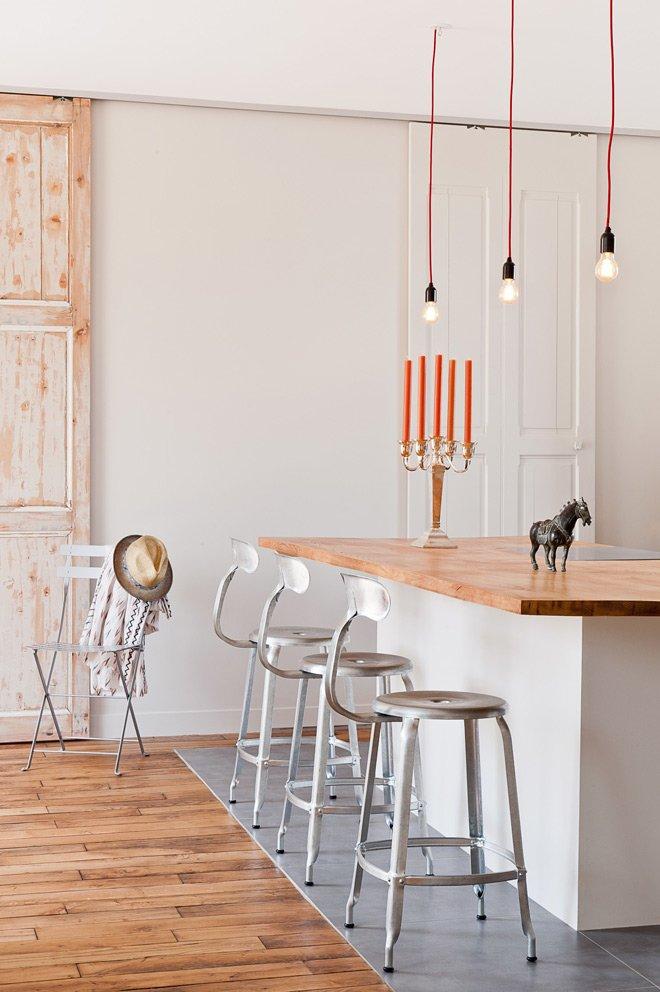Loft parisino minimalista de 60 m2 decoraci n del hogar for Decorar un loft de 50 metros