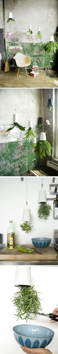 Maceteros colgantes originales decoraci n del hogar - Maceteros originales baratos ...