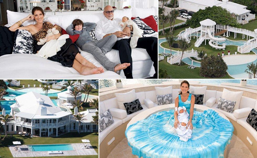 Increíble mansión de Céline Dion en Jupiter Island ...
