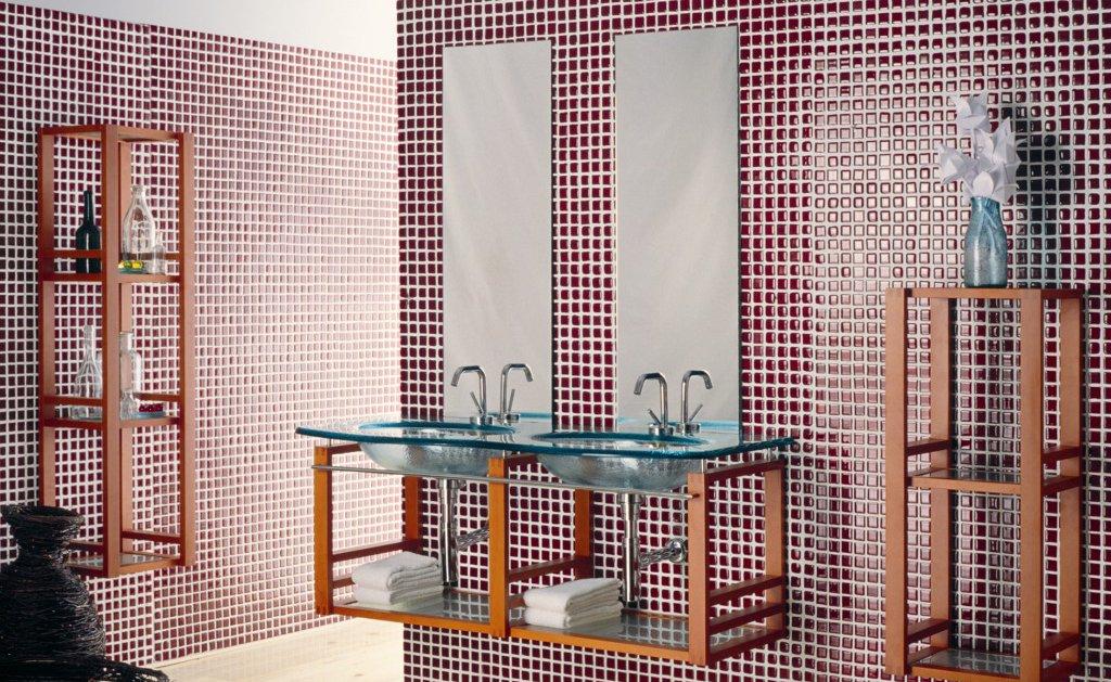 Materiales para el lavabo ii decoraci n del hogar - Lavabos de cristal de colores ...