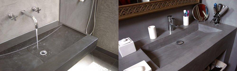 Materiales para el lavabo decoraci n del hogar - Banos cemento pulido ...