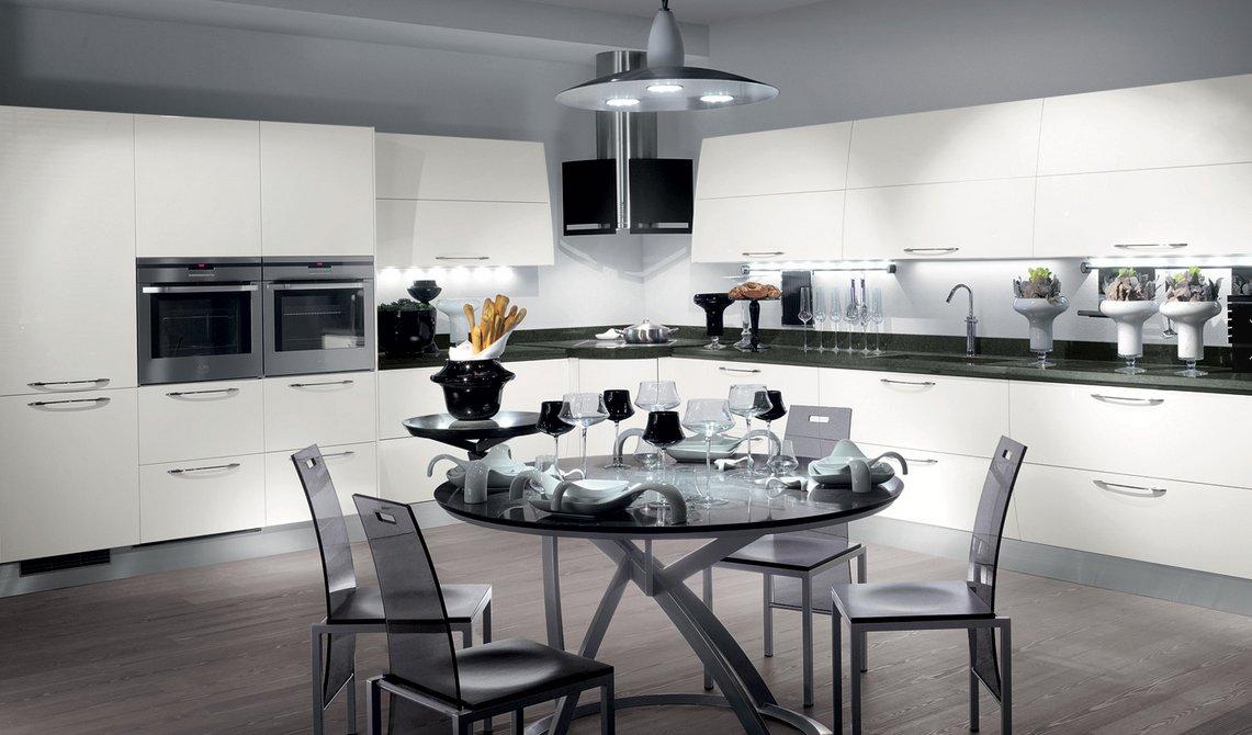 Cocinas modernas llenas de colorido scavolini decoraci n - Mesas modernas de cocina ...