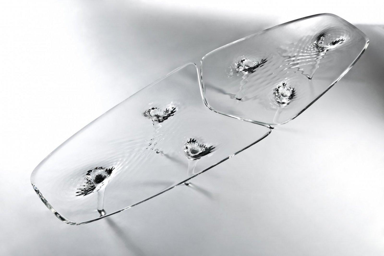 Mesa Liquid Glacial De Zaha Hadid Decoraci N Del Hogar  # Muebles De Zaha Hadid