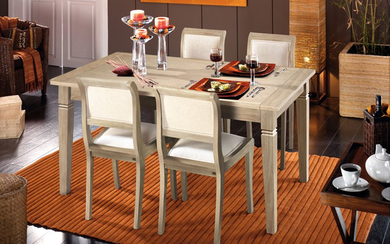 Mesas r sticas en banak importa decoraci n del hogar - Mesas de cocina rusticas extensibles ...