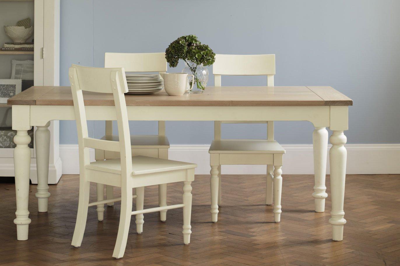 Muebles para una cocina de estilo ingl s decoraci n del for Mesas y sillas de madera para cocina
