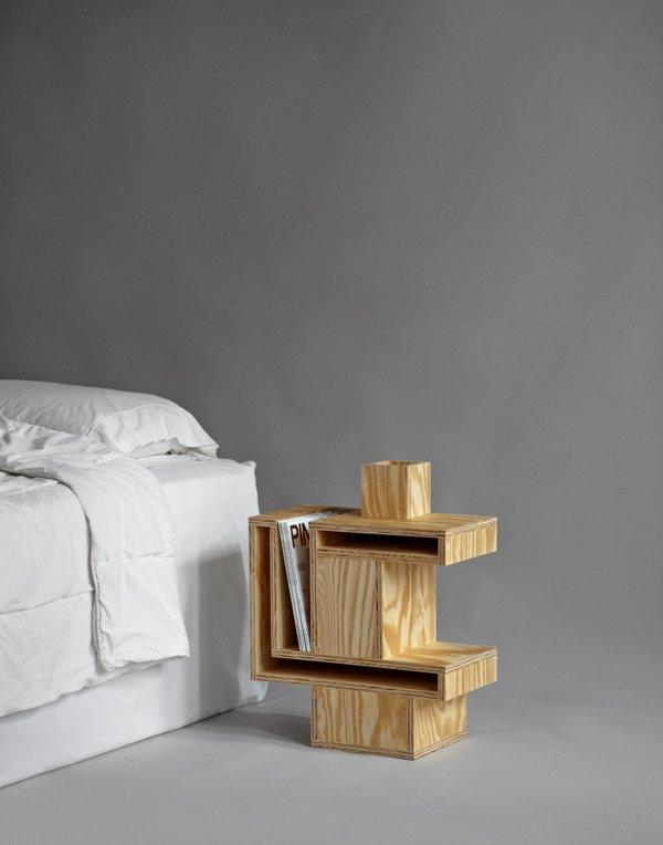 Mesitas de noche para el proyecto the pin up nightstands - Mesas de noche rusticas ...