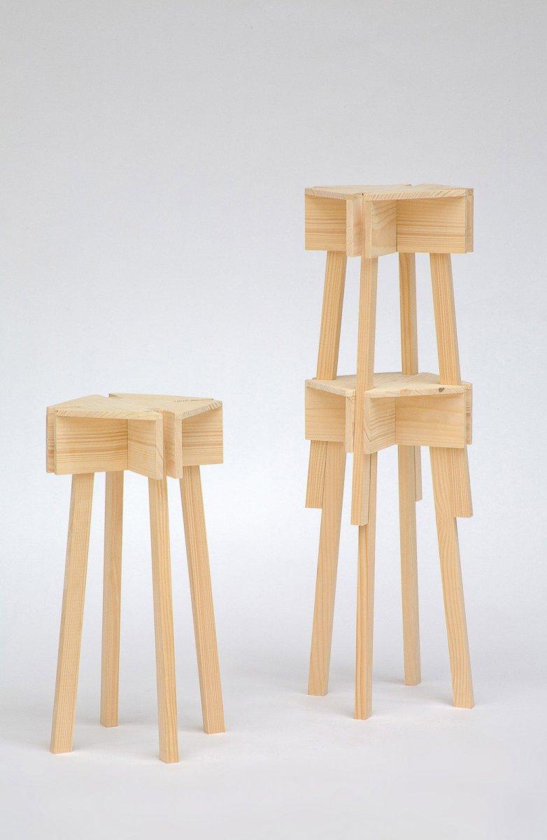 Muebles apilables para casas peque as mobiliario apilable para casas peque as - Muebles plegables para viviendas pequenas ...
