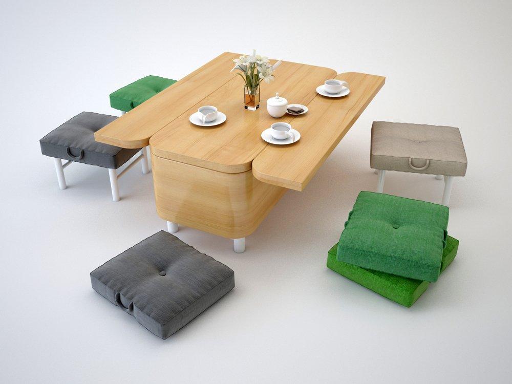 Mueble convertible de julia kononenko decoraci n del hogar - Sofa para tres ...