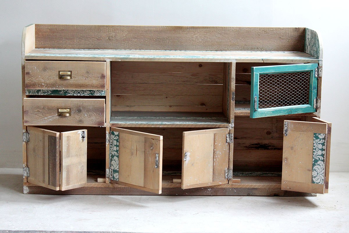 Muebles reciclados de segnomaterico decoraci n del hogar for Decoracion del hogar reciclaje