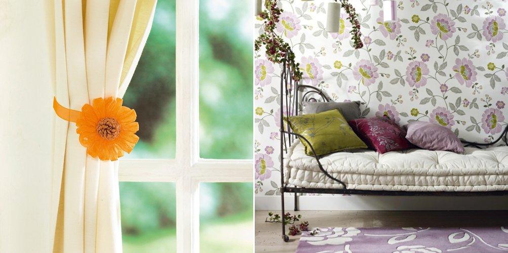 A ade motivos florales a la decoraci n de tu hogar for Adornos hogar