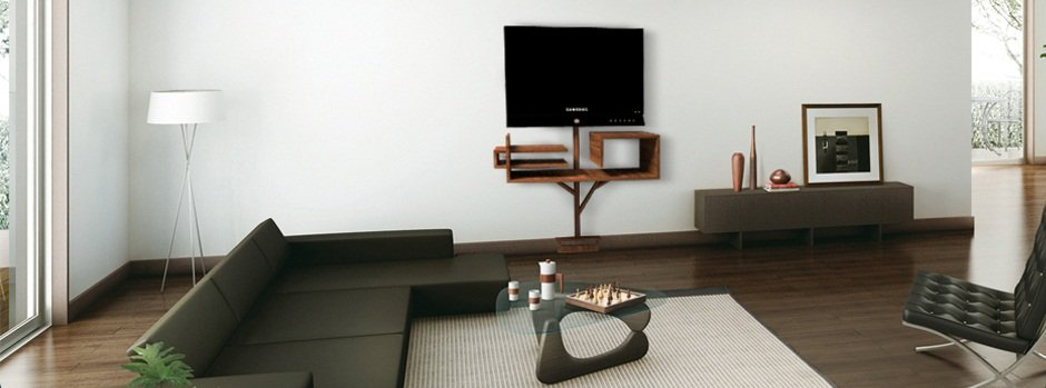 Mueble de televisi n arbre 2 0 decoraci n del hogar - Decoracion mueble tv ...