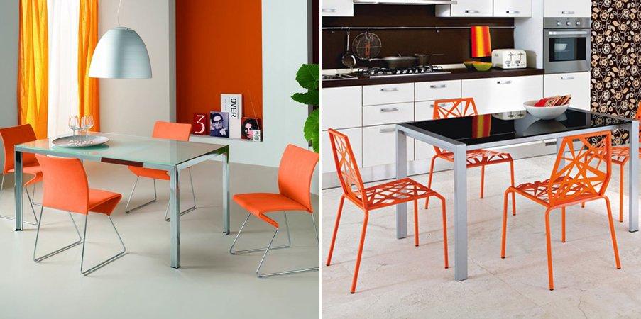 Decora tu hogar con color naranja  masluzmx
