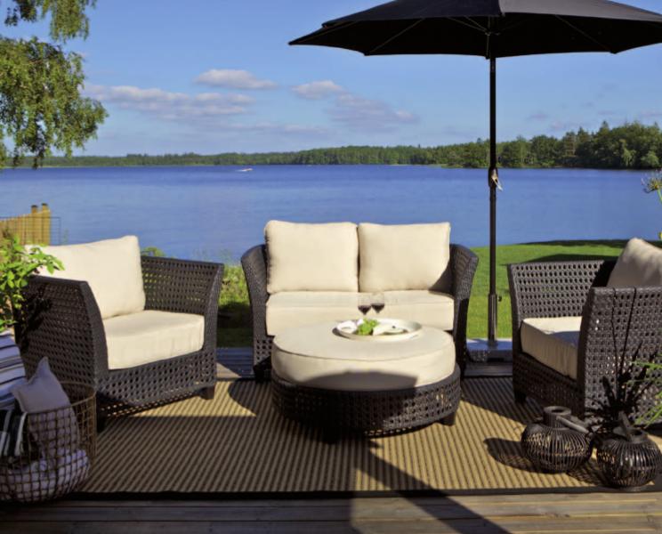 Muebles de exterior para la terraza aladecor muebles for Comedores exteriores para terrazas