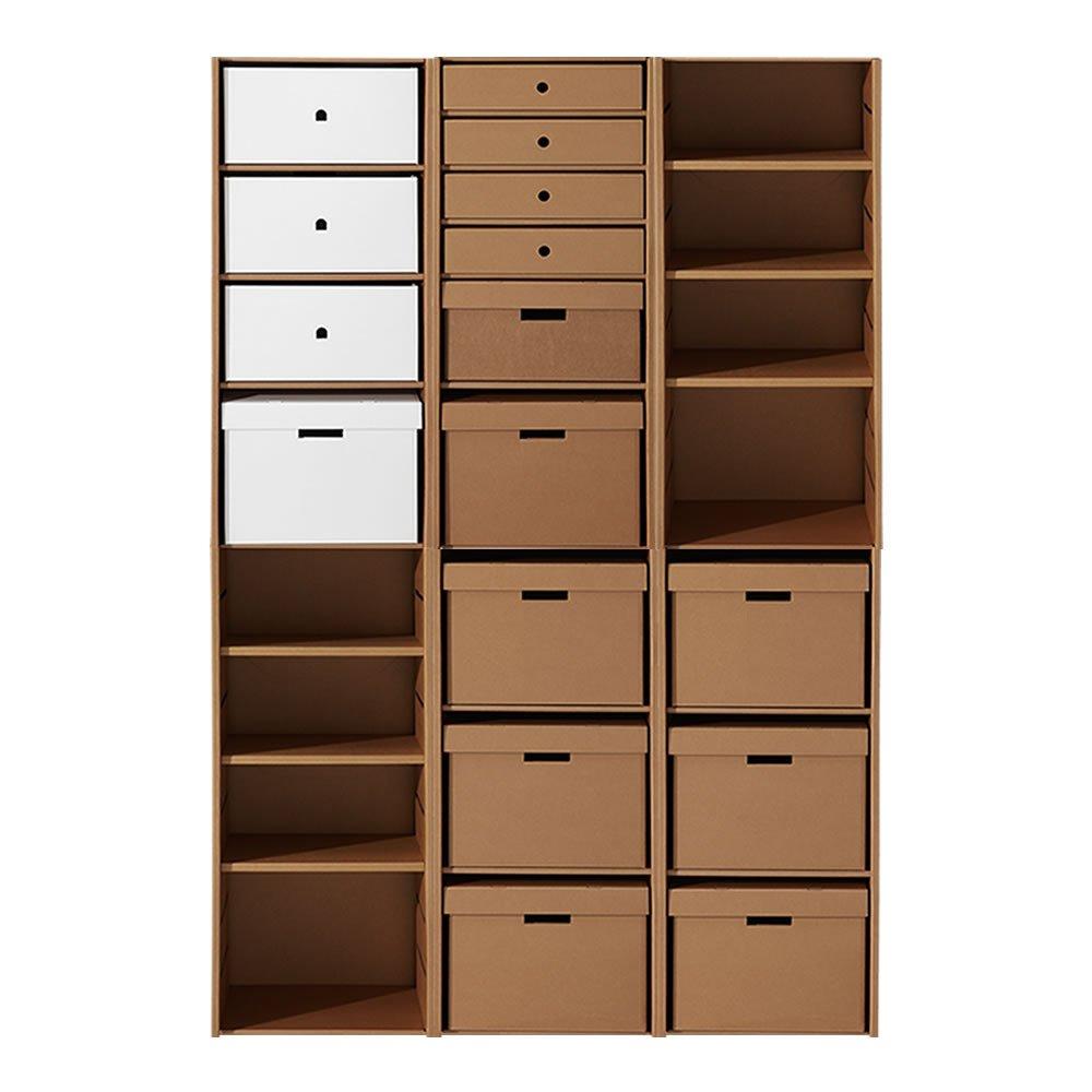 Muebles de cart n de la firma karton decoraci n del hogar - Muebles de carton ...