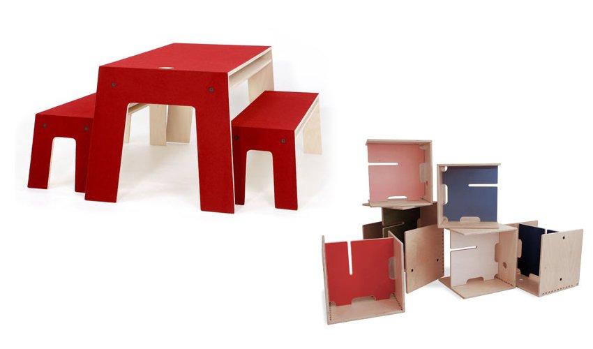 Muebles creativos para ni os de perludi ii decoraci n - Muebles infantiles diseno ...