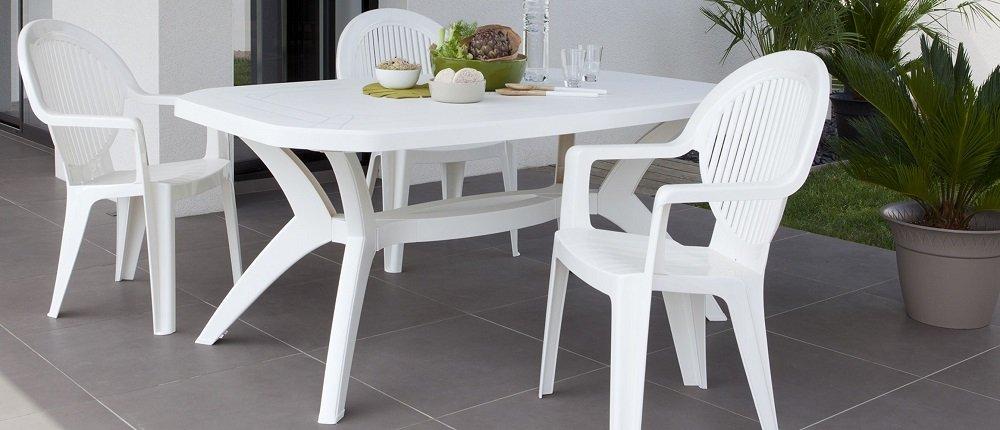 Muebles de jard n consejos para elegir el material m s - Muebles jardin plastico ...