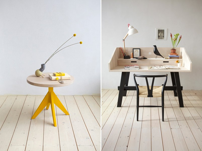 Ecodise o con la colecci n de muebles mun collection for Muebles artesania