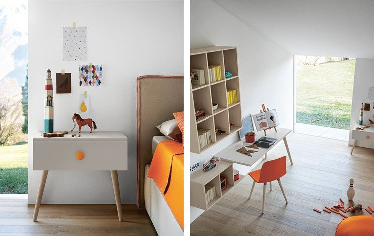 Muebles infantiles de la firma Battistella