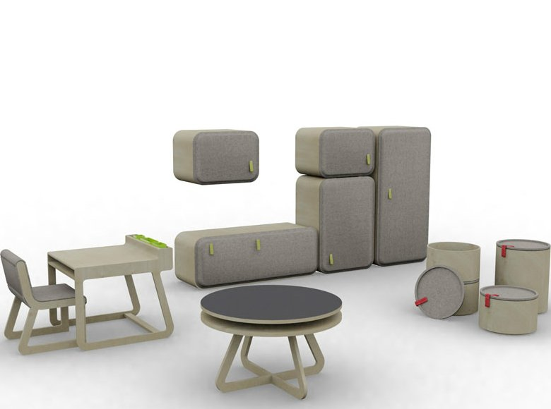 Muebles infantiles Playtime