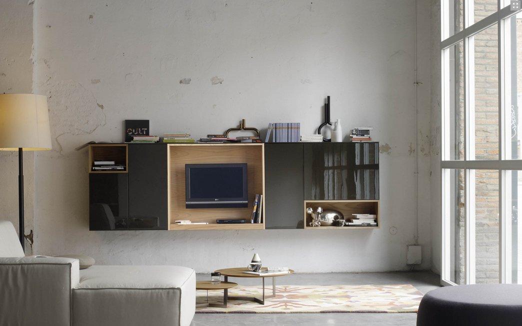Muebles de sal n de la firma treku decoraci n del hogar for Composiciones modulares para salon