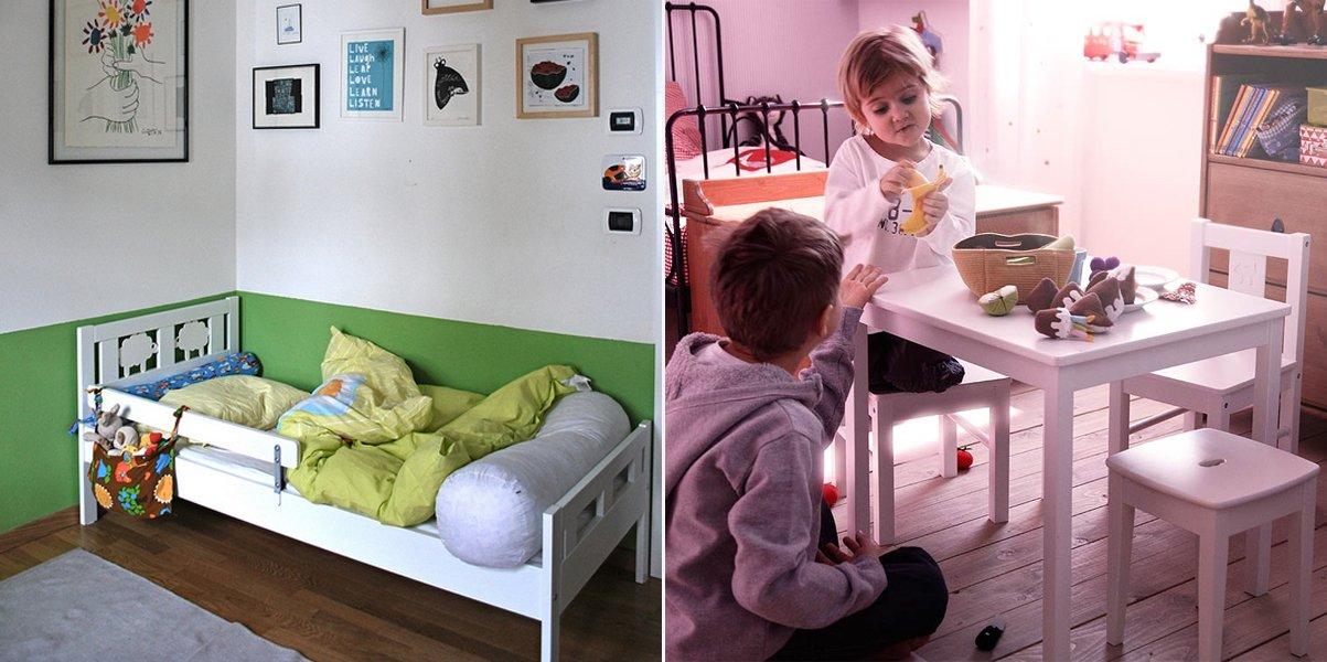 Mobiliario para ni os kritter de ikea decoraci n del hogar for Mesa de ninos ikea