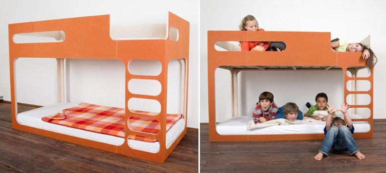 Muebles creativos para ni os de perludi decoraci n del hogar - Literas de diseno ...