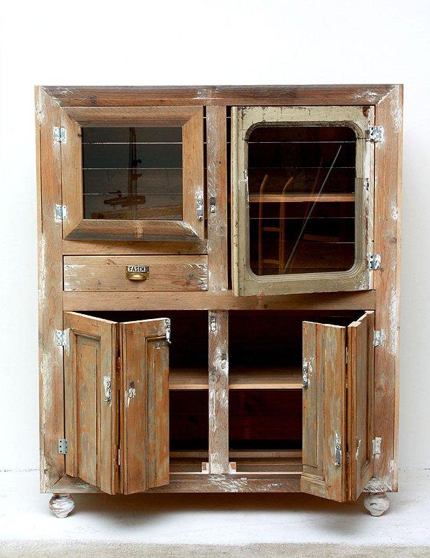 Imágenes de muebles reciclados de Segnomaterico