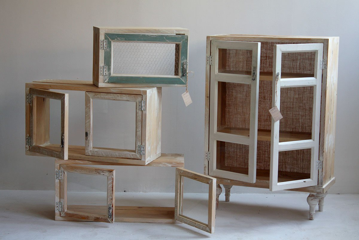 Im genes de muebles reciclados de segnomaterico muebles for Piccole librerie in legno