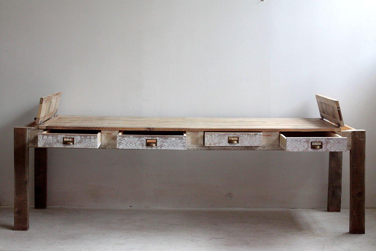 Muebles para bano de material reciclado for Muebles reciclados