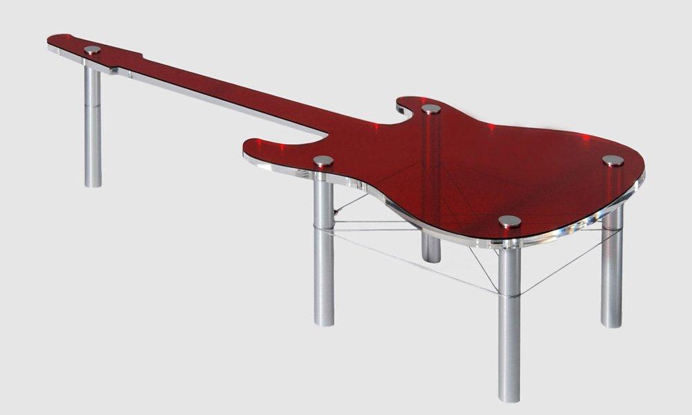 Muebles para rockeros de la firma rocket decoraci n del for La forma muebles