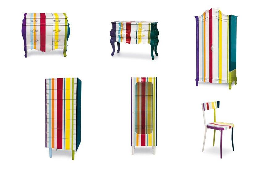 Colecci n de muebles trip de seletti decoraci n del hogar for Muebles pop art