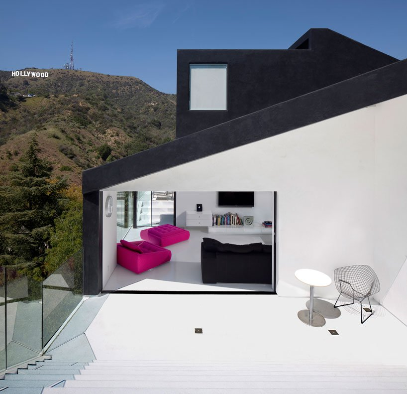 casas modernas hollywood