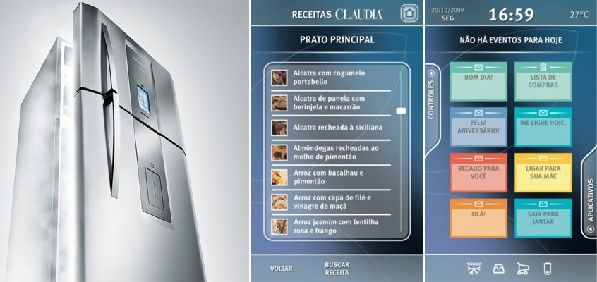Frigor fico infinity i kitchen de electrolux decoraci n - Frigorifico del futuro ...
