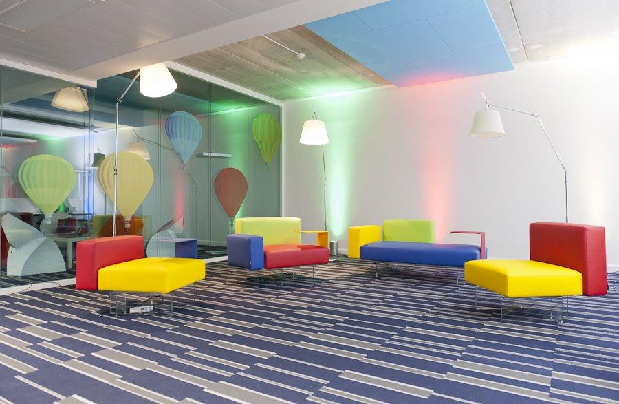Nuevas oficinas de google en par s decoraci n del hogar for Google decoracion de interiores