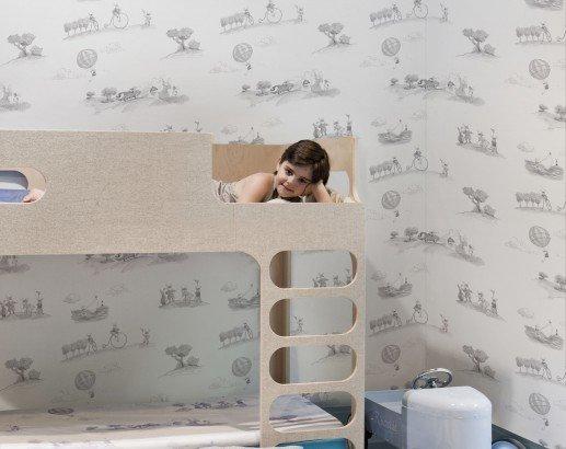 Papeles pintados infantiles papel pintado infantil coordonn - Papel pintado infantil ...