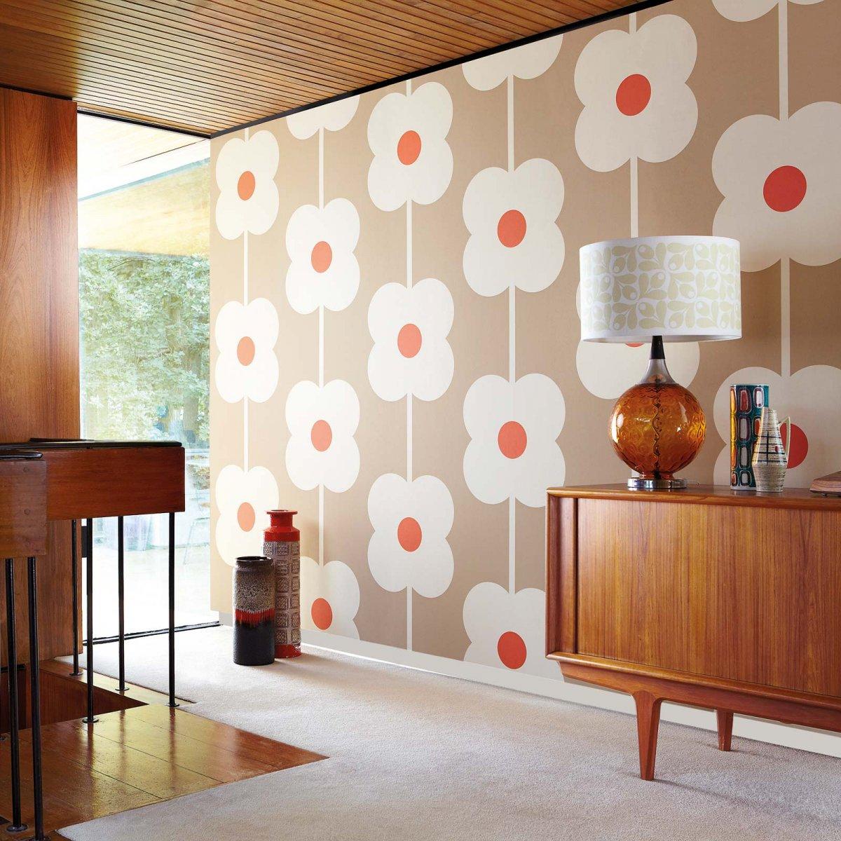 Papeles pintados para un estilo retro decoraci n del hogar - Papeles para decoracion ...