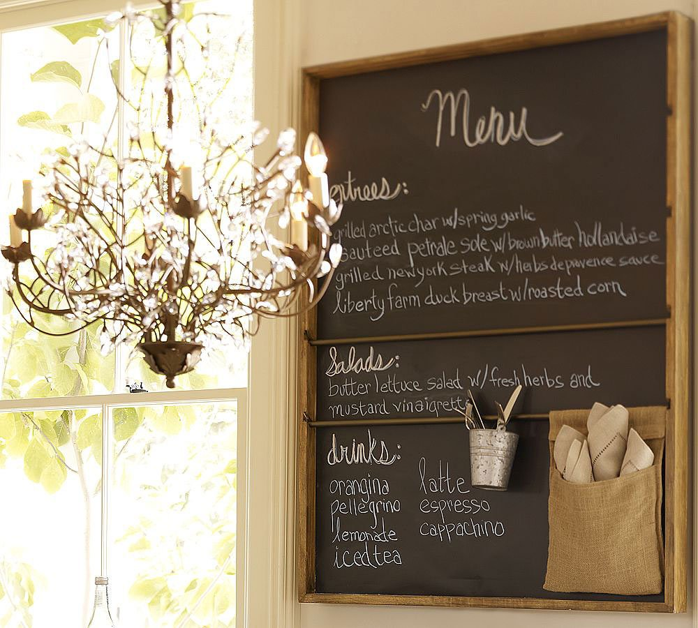 kitchen chalkboard wall ideas paredes pizarra para cocinas decoraci 243 n hogar 19319