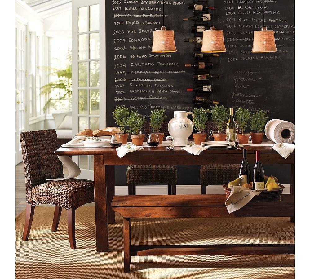 533 Best Dining Rooms Images On Pinterest: Paredes Pizarra Para Cocinas. Decoración Del Hogar