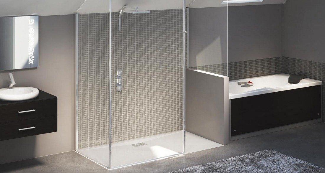 Duchas para ba os una elecci n acertada decoraci n del for Plato de ducha flexible