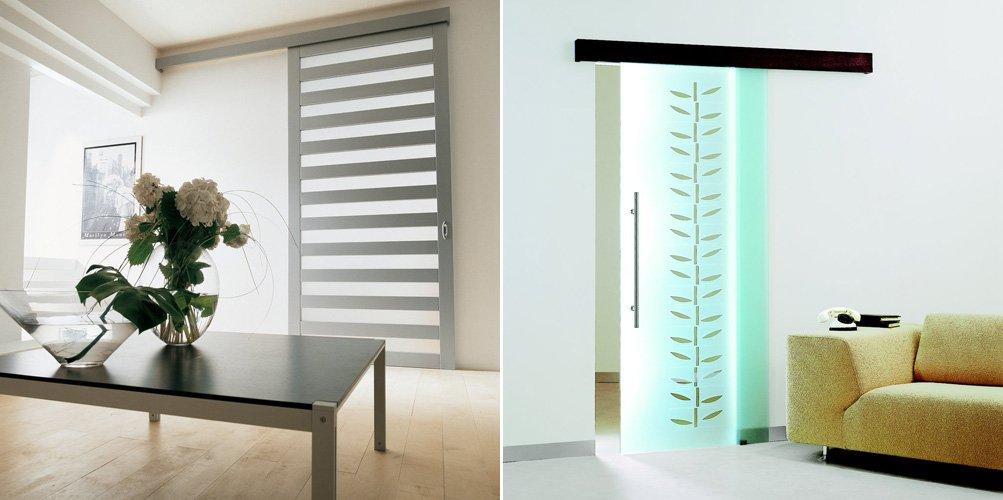 Puertas correderas para el interior de nuestro hogar for Modelo de puertas para habitaciones modernas
