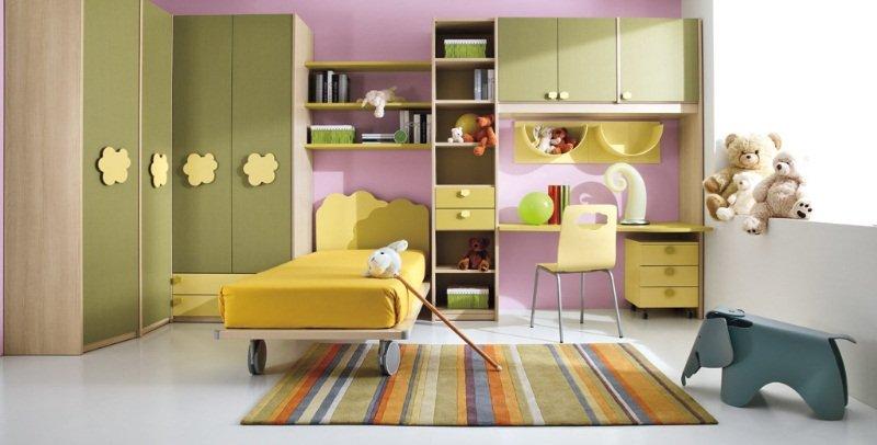 Reglas b sicas para crear un dormitorio para ni os - Decoracion pared ninos ...