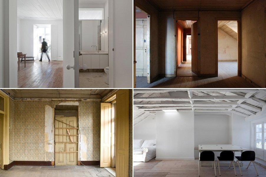 Minimalista Y Moderna Rehabilitaci N De Un Edificio De