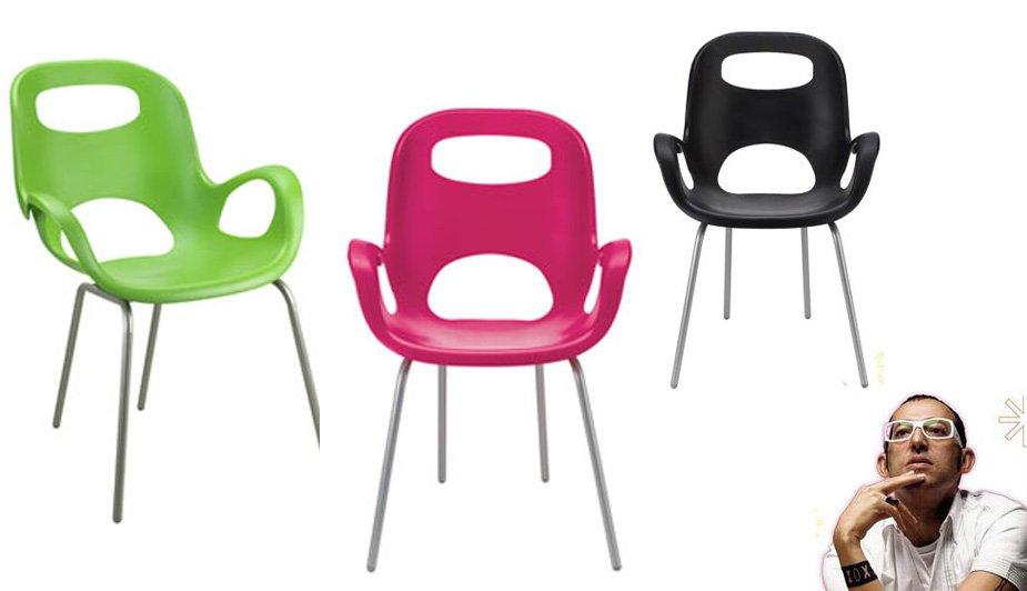 Merveilleux Silla Oh! Chair De Karim Rashid
