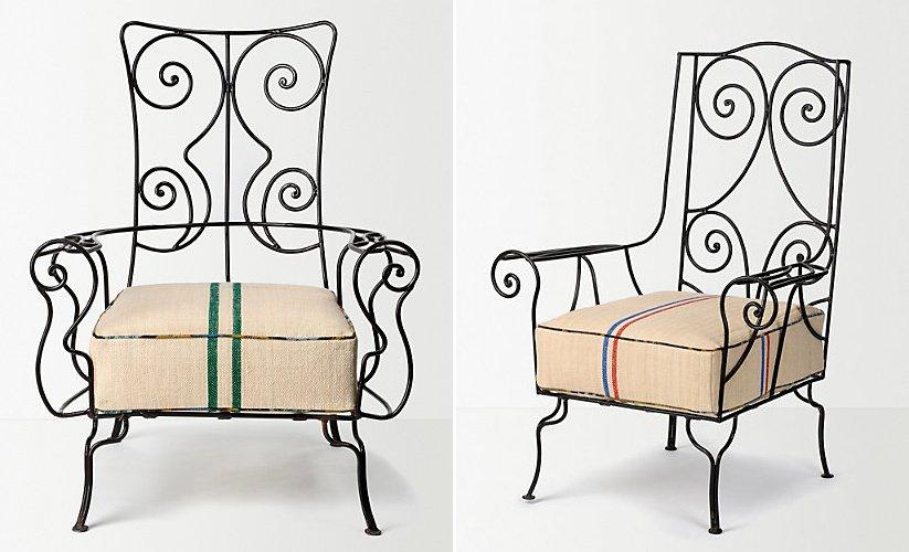 Muebles de hierro forjado decoraci n del hogar for Mesas de hierro forjado y madera